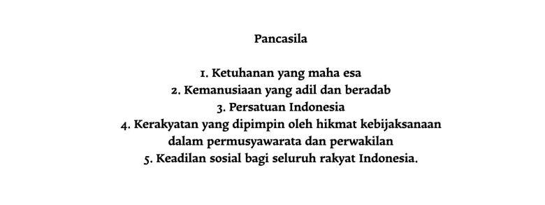 Pancasila - New Naratif