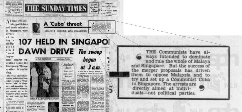 The Straits Times 3 February 1963 - New Naratif