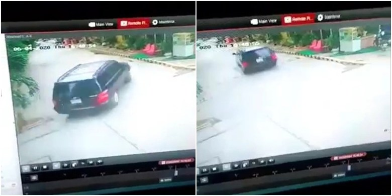 CCTV footage of the vehicle allegedly involved in the suspected abduction of Wanchalearm Satsaksit on 4 June 2020 in Phnom Penh, published by Prachatai.