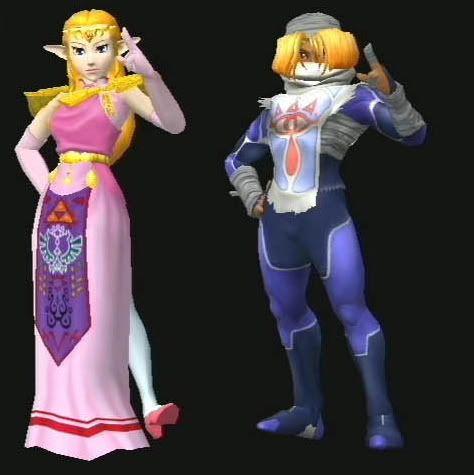 Sheik And Zelda Wwwpixsharkcom Images Galleries With