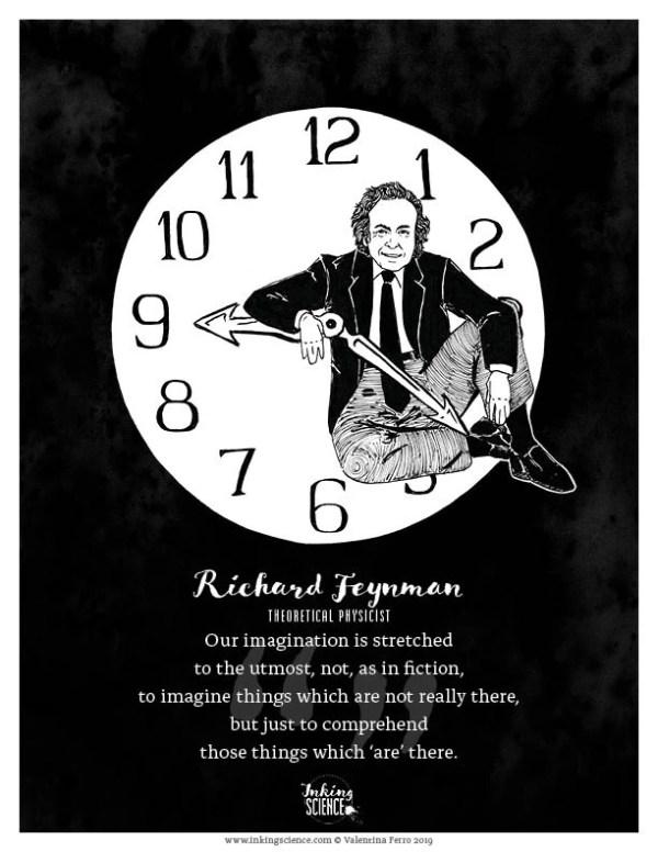 Richard Feynman Limited Edition Print