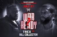 """T-Rex VS Bill Collector – The Battle Academy Presents """"War Ready 2"""""""