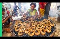 Eating in Africa's Biggest Floating Slum!! Seafood Factories