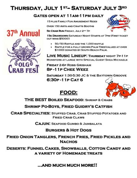 LG Crab Festival