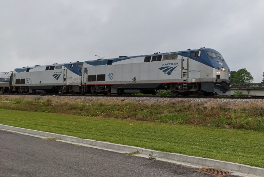 Amtrak Crescent 08-April-2020