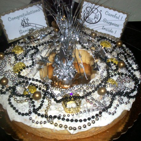 New Orleans Sweet Treats Custom Cake
