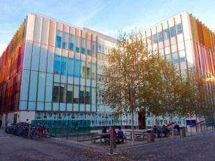 New Biochemistry Building
