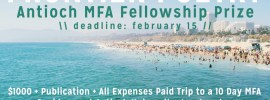Frontier Poetry Antioch MFA Fellowship Prize