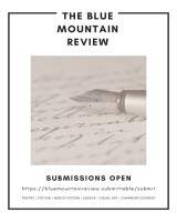 The Blue Mountain Review flier