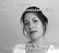 Radar Poetry 2020 Contest banner ad