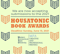 banner for the 2021 Housatonic Book Awards
