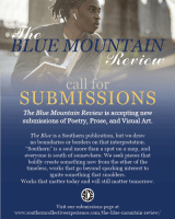 Blue Mountain Review 2021 call for submissions flier screenshot
