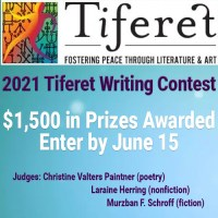 Tiferet 2021 Writing Contest banner ad