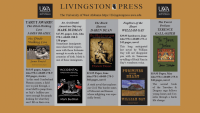 Screenshot of Livingston Press May 2021 NewPages eLitPak Flier