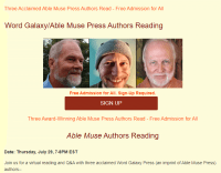 Screenshot of Able Muse Press website