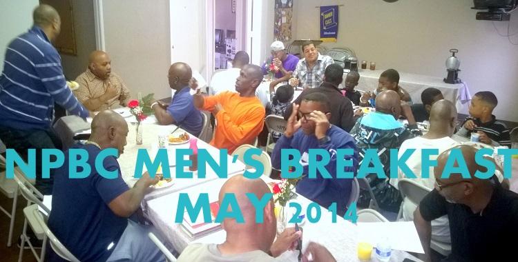 Men's Breakfast MAY2014