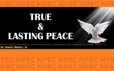 True and Lasting Peace