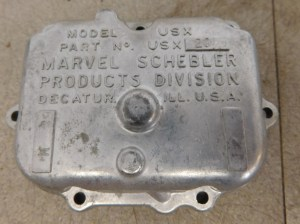 JD 3010 3020 4010 4020 NOS ALUMINUM CARB COVER 11247