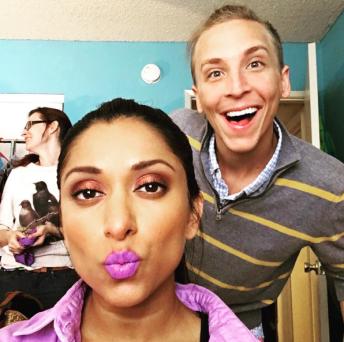 makeup room!