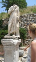 But this one in Ephesus used to represent somebody