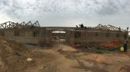 New building being built at the Nwoya Girls Academy