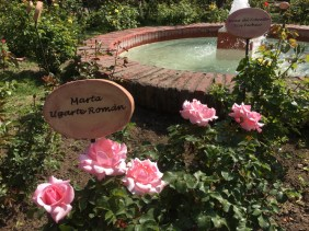 Memorial. Names of women that died in Grimaldi