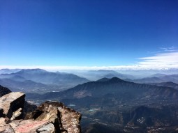 Look closely, you'll see something awesome, the Andes
