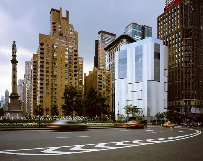 Museum of arts and design Columbus Circle
