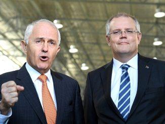 Malcolm Turnbull Scott Morrison
