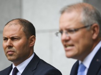 Josh Frydenberg and Scott Morrison corruption
