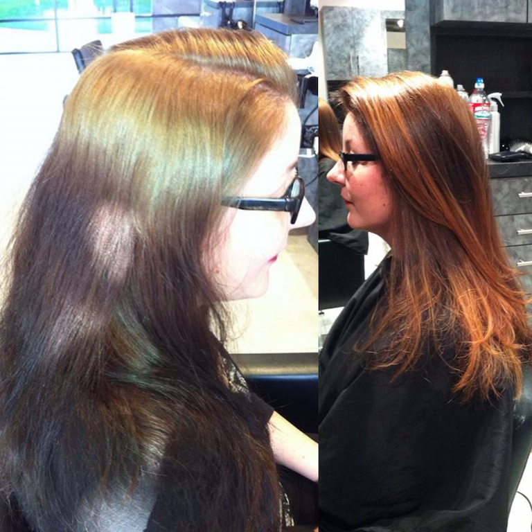 Newport Beach Hair Stylist Color Correction Blonde Hot Roots With