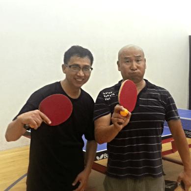 Kuei Chen and Fred Li - Table Tennis Newport Beach