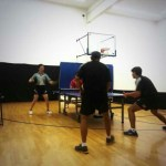 Newport Beach Table Tennis in Action