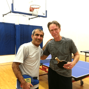 Equal Challenge Finalists in Newport Beach Table Tennis Club