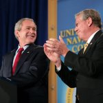George W Bush Newport RI