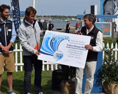 Volvo Ocean Race Newport Clean Regatta