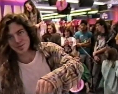 Pearl Jam Wash 1991 Tower Records