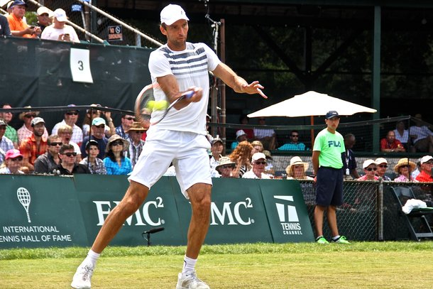 Ivo Karlovic Tennis Hall of Fame 2015 Finals