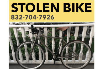 Stolen Bike Newport RI