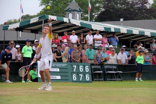 Jan Hernych newport Tennis
