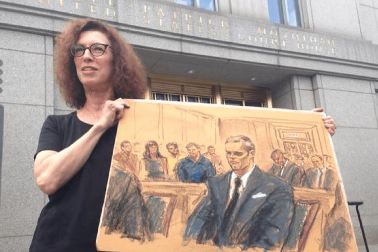 Brady Court Sketch