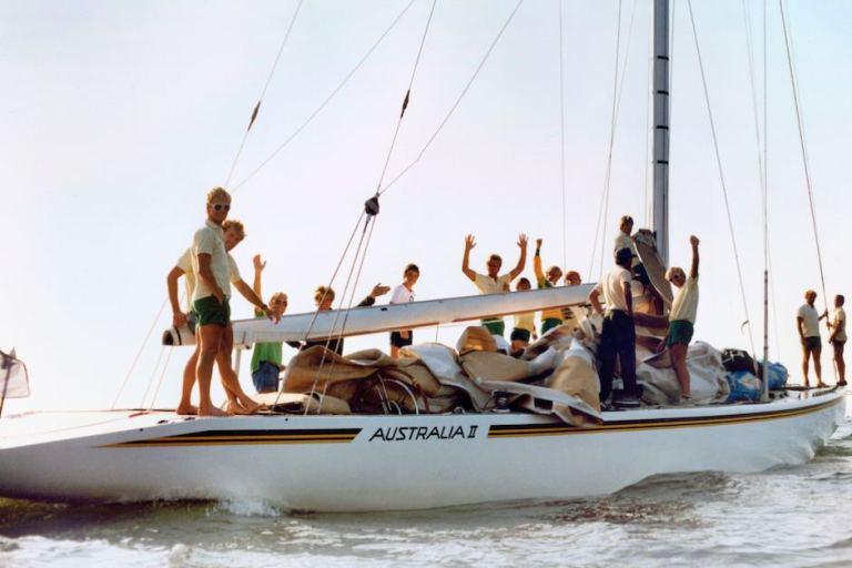 Australia II Newport RI 1983