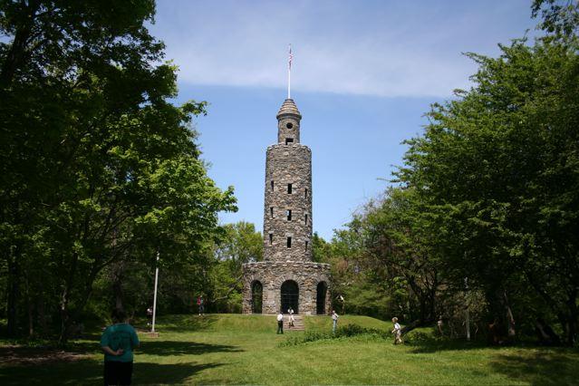 Climb Miantonomi Tower Newport RI