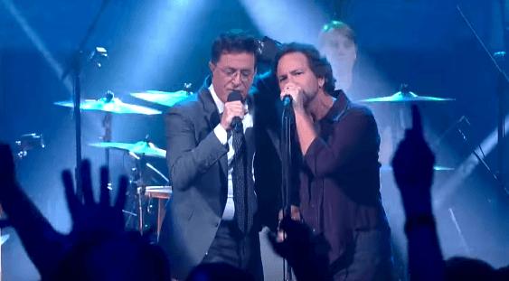 Pearl Jam Stephen Colbert