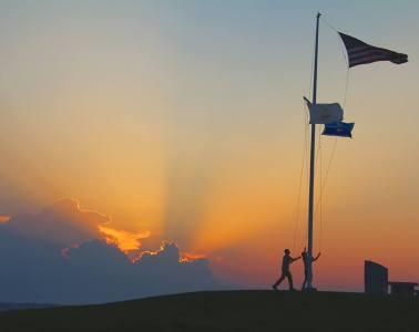 brenton point sunset newport ri