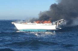 Northern Phoenix Yacht Fire Newport RI