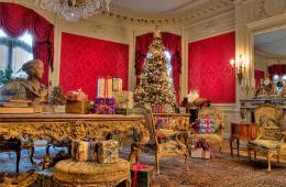Newport ri mansions Christmas