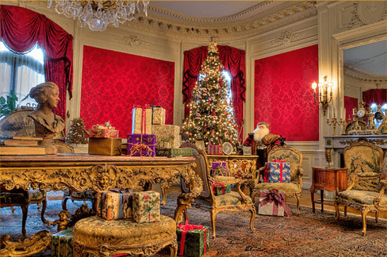 Newport ri mansions Christmas