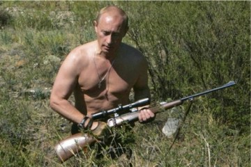 Putin Shirtless