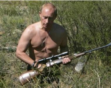Putin Shirtless